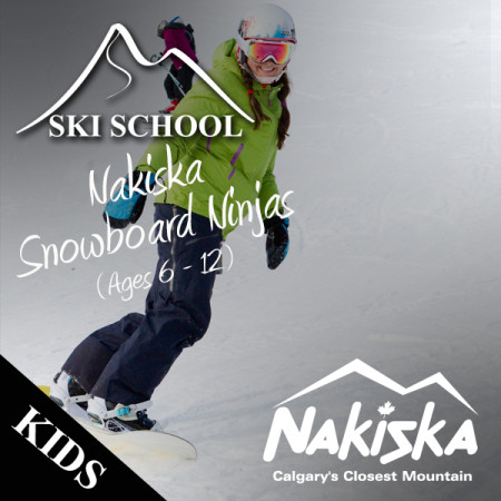 nakiska ski school NINJAS
