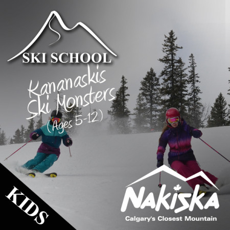 nakiska ski school SKI MONSTERS