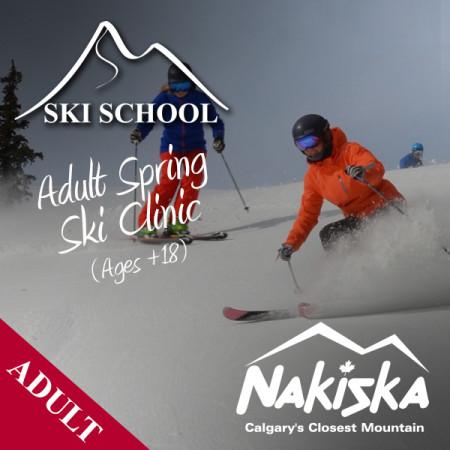nakiska ski school ADULT spring