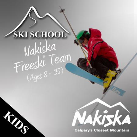 nakiska ski school FREESKI TEAM