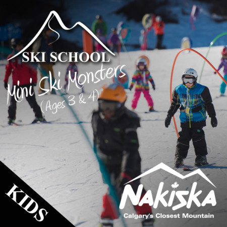 nakiska ski school MINI MONSTERS