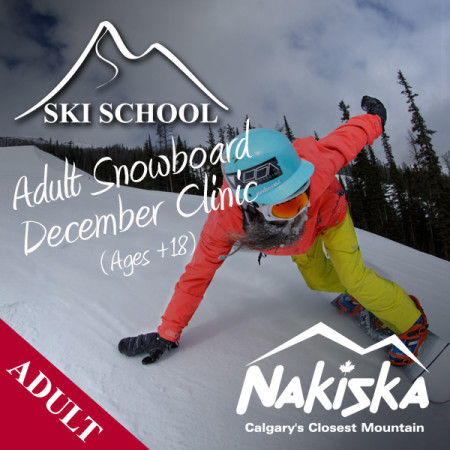 nakiska snow school ADULT december
