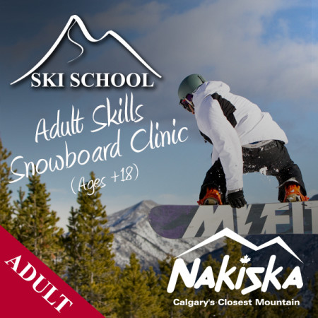 nakiska snow school ADULT skills
