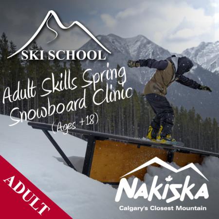 nakiska snow school ADULT skills spring