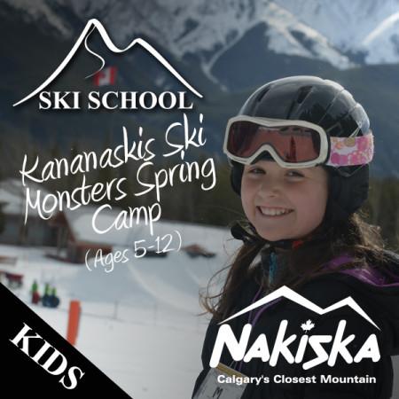 nakiska snow school Kananaskis spring2