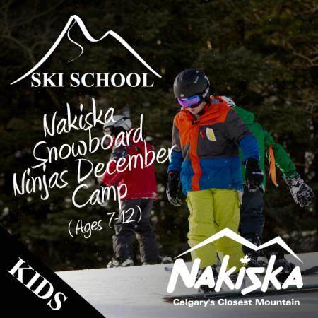 nakiska snowboard ninjas december
