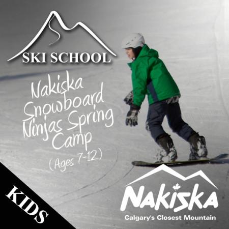 nakiska snowboard ninjas spring